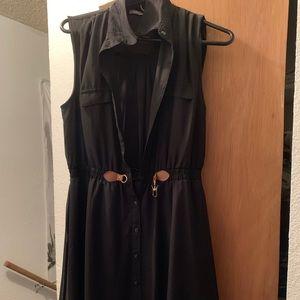 1a5256e555 Black Casual Dress